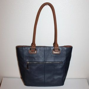 Tignanello Genuine Leather Large Bag Handbag Purse